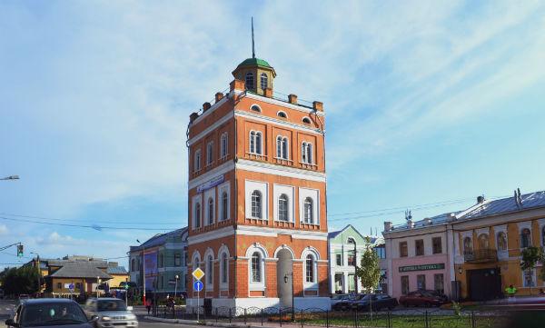 Ермаков открыл водонапорную башню
