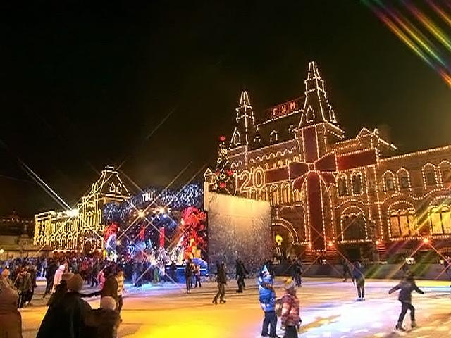 Концерт на новый год на красной площади