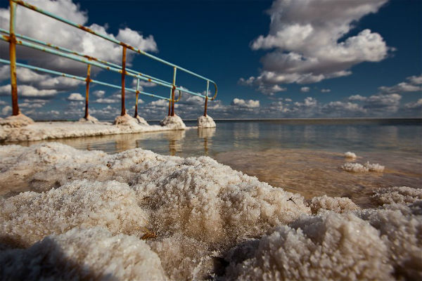 фото соляной горы